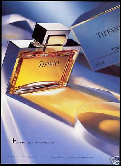 Tiffany Perfume Bottle Box Photo (1995)