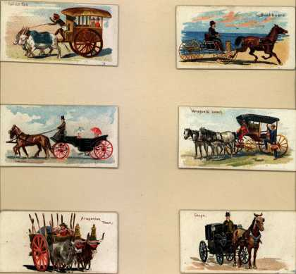 W. Duke Sons & Co.'s Duke's Cigarettes – 50 Vehicles of the World – Image 11