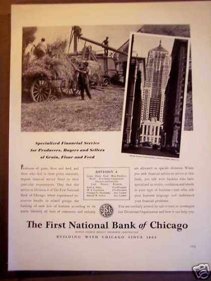 Chicago Bank Financial Services Banking (1940)