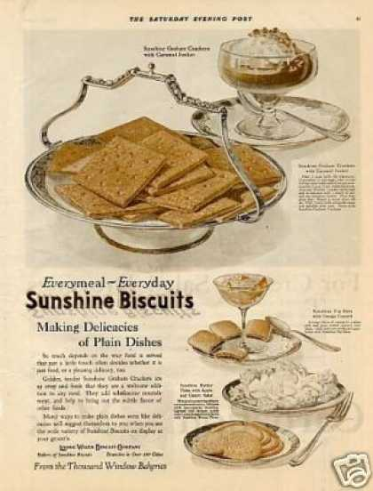 Sunshine Biscuits Color (1921)
