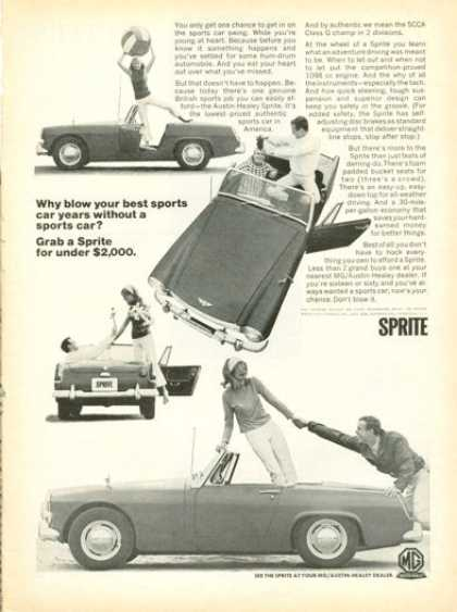 Mg Austin Healey Sprite Sports Car (1966)