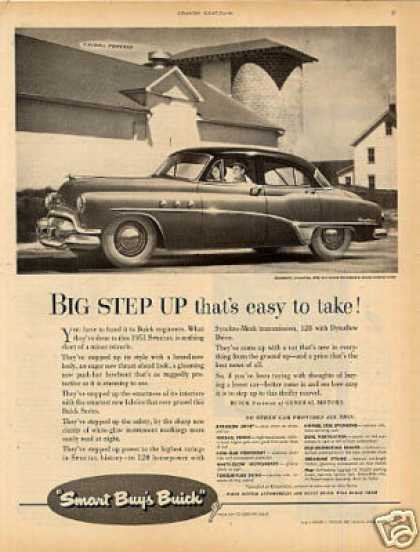 "Buick Special Car Ad ""Big Step Up... (1951)"