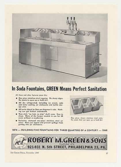 Robert M Green Soda Fountain (1949)