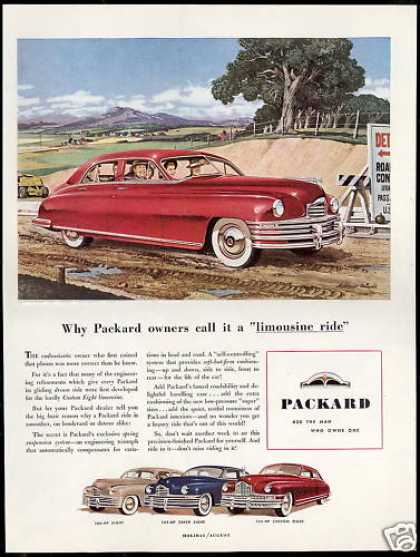 Packard Car Limo Ride Super Custom Eight (1948)