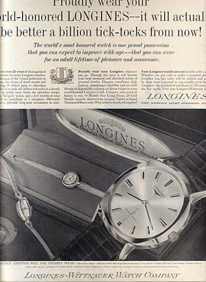 Longines-Wittnauer's Watches (1963)