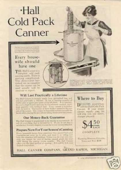 Hall Cold Pack Canner (1918)
