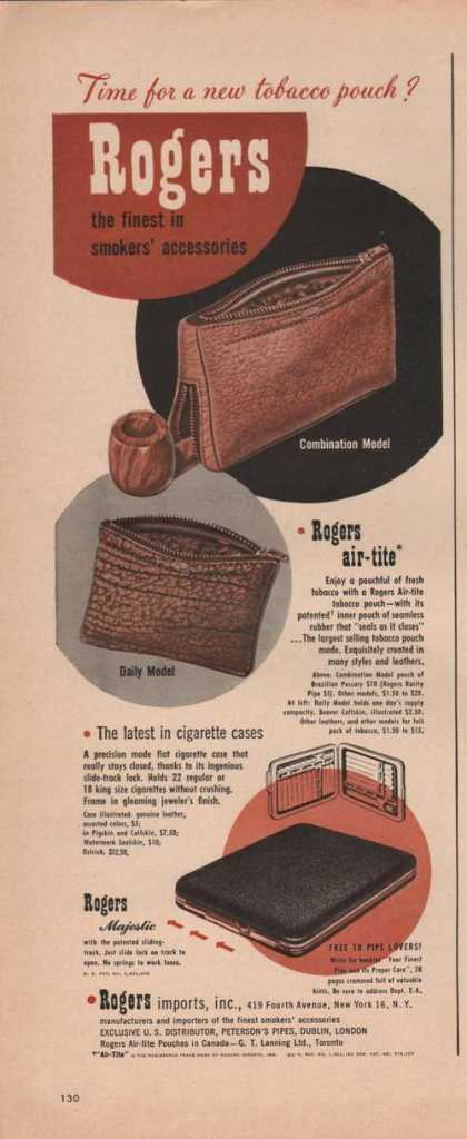 Rogers Smokers Accessorie (1949)