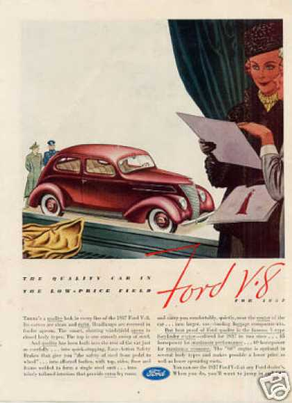 Ford Car Color (1937)