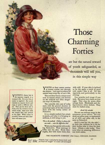 Palmolive Company's Palmolive Soap – Those Charming Forties (1926)
