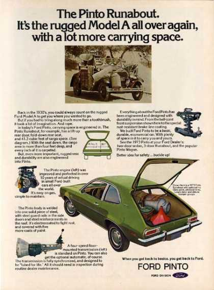 Ford's Pinto (1973)