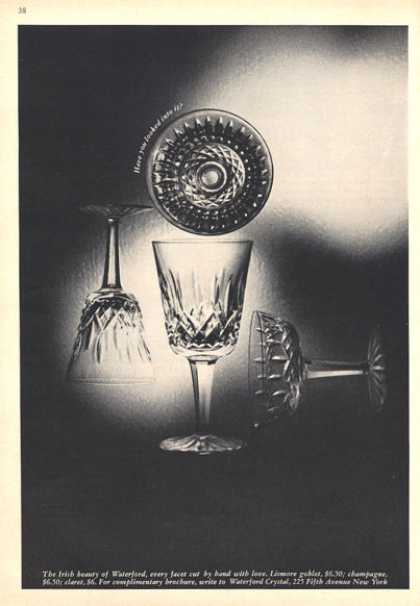 Waterford Lismore Crystal Goblet (1964)