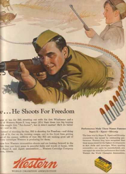 Western's World Champion Ammunition (1944)