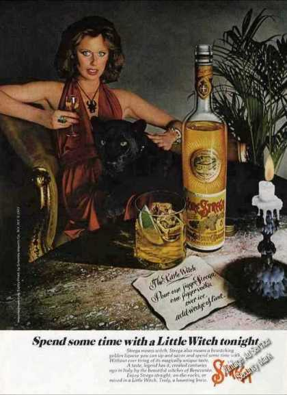 "Strega Liquore ""Time With Little Witch Tonight"" (1978)"