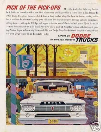 Dodge Pick-up Truck (1960)