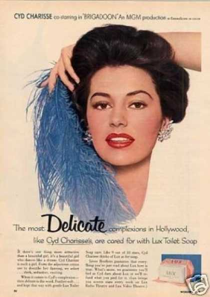 Lux Soap Ad Cyd Charisse (1954)