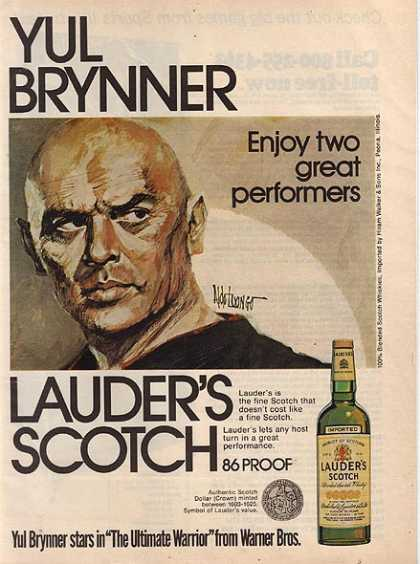 Lauder's 86 Proof Blended Scotch Whisky (1975)
