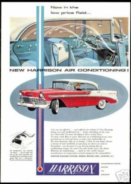 Chevrolet 4dr Bel Air Harrison Air Conditioning (1956)
