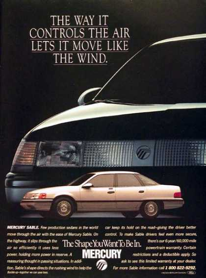 Mercury Sable Sedan (1988)