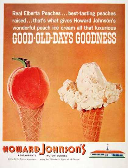 Howard Johnson Ice Cream (1964)