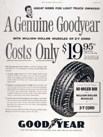 Goodyear Truck Tires (1955)