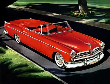 Chrysler Windsor Deluxe convertible (1955)