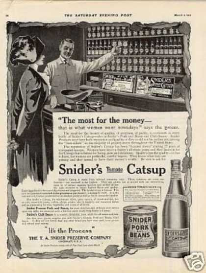 Snider's Catsup (1912)