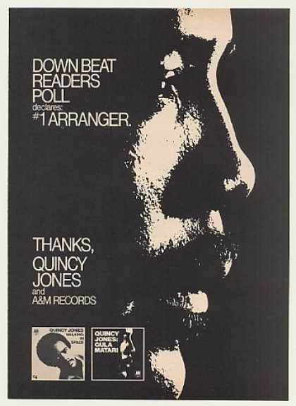 Quincy Jones Readers #1 Arranger A&M Records (1970)