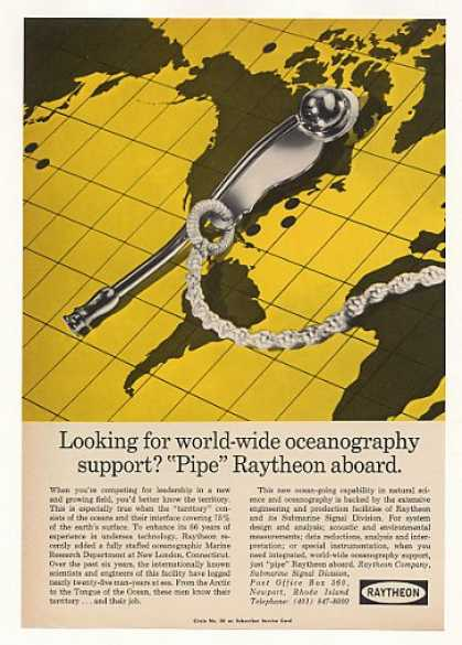 Raytheon Oceanography Marine Research Dept (1967)