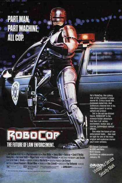 Robocop Movie Trade (1988)
