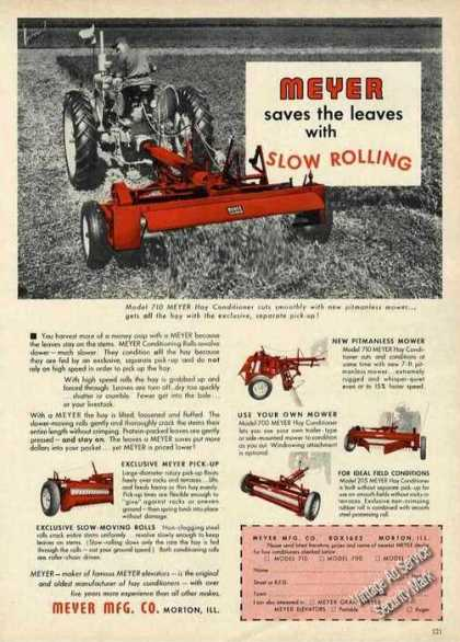 Meyer Model 710 Hay Conditioner Farm (1963)