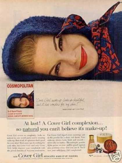 Cover Girl Make-up Ad Lois Hey (1963)