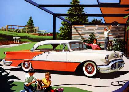 Oldsmobile 88 Holiday Sedan (1956)