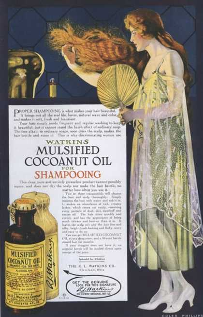 Watkins, Shampoo, USA (1918)