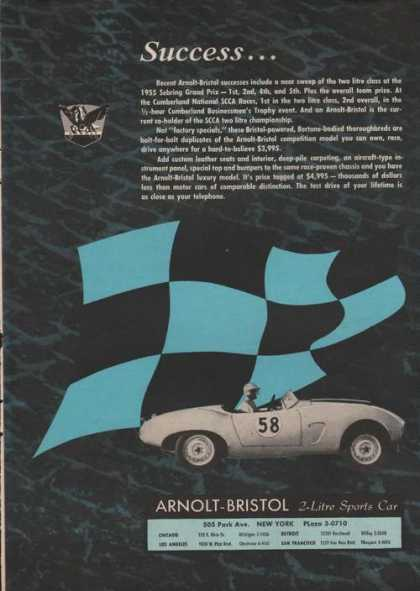 Arnolt Bristol 2 Litre Sports Car (1955)