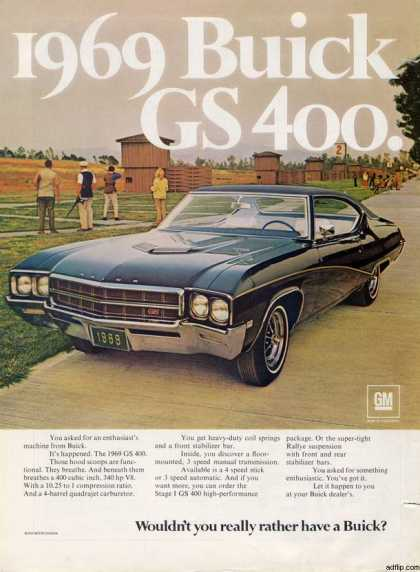 General Motor's Buick GS 400 (1968)