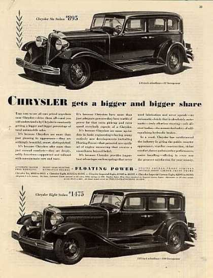 Chrysler Six & Eight Sedan (1932)