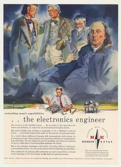 '57 Franklin Electronics Engineer Norden-Ketay (1957)