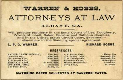 Warren & Hobbs – Warren & Hobbs, Attorney At Law