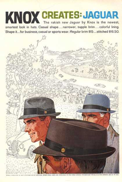 Know Jaguar Hat Race Track Racing (1959)