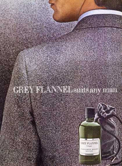Geoffrey Beene's Grey Flannel Cologne (1980)