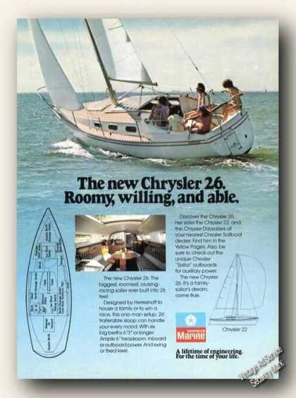 Chrysler 26 Cruising-racing Sailer Photos Boat (1977)