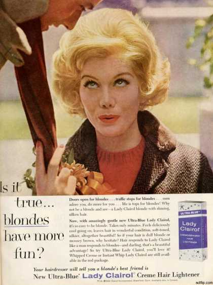 Vintage Beauty and Hygiene Ads of the 1960s