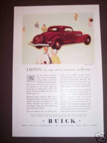 Buick Car Automobile Original (1934)