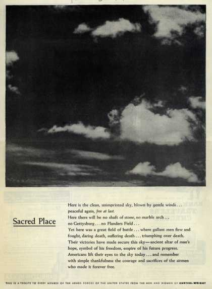 Curtiss-Wright's Post-War – Sacred Place (1945)