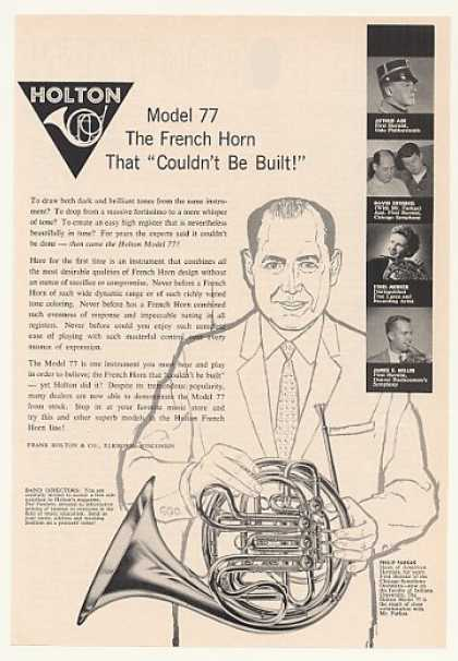 Philip Farkas Holton Model 77 French Horn (1963)
