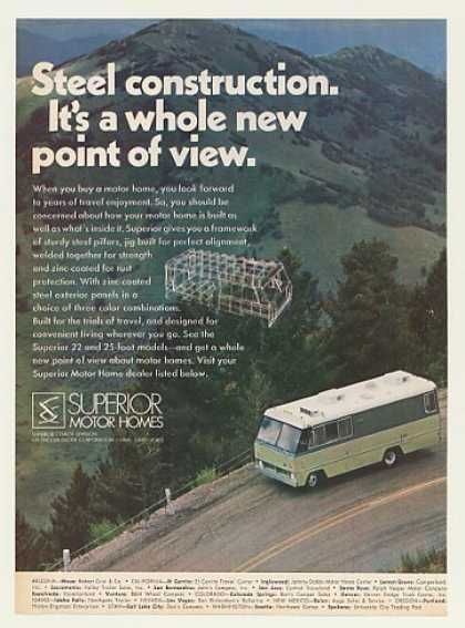 Superior Motor Home Steel Construction (1971)