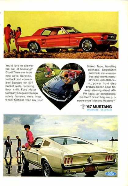 Ford Mustang Fastback Coupe (1967)