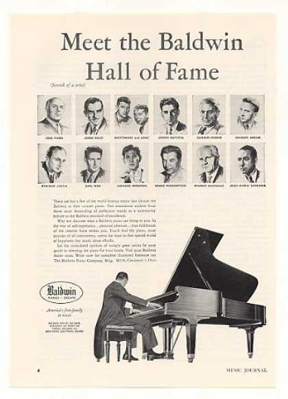 Baldwin Concert Piano Hall of Fame Artists 7th (1958)