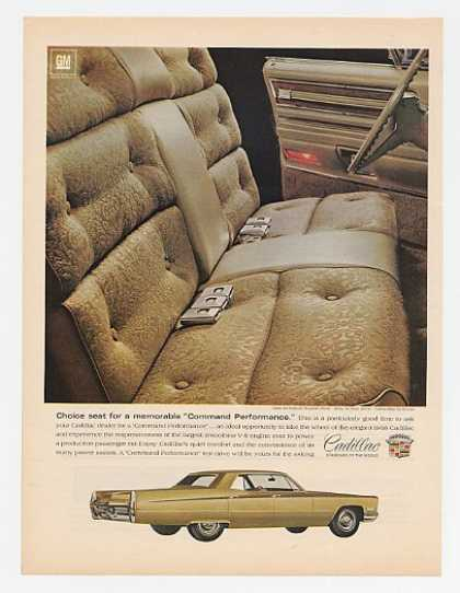 Cadillac Fleetwood Interior & Sedan deVille (1968)