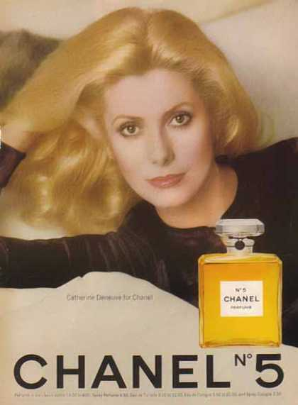CHANEL No 5 Perfume – Catherine Deneuve – Sold (1976)